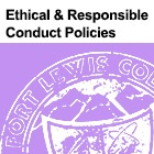 Ethical and Responsible Conduct Policies