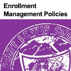 Enrollment Management Policies